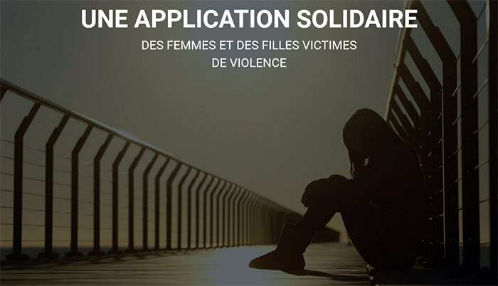 Une application solidaire